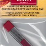 Mines de rechange - porte mines BOHIN  Noir