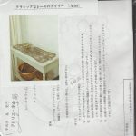 a54 kit tapis de table Mola Dentelle 32 x34cm Haruyo Kiyama