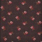 30762-03 windham fleurs sur fond marron
